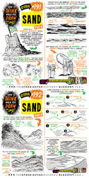 How to THINK when you draw SAND tutorial by STUDIOBLINKTWICE