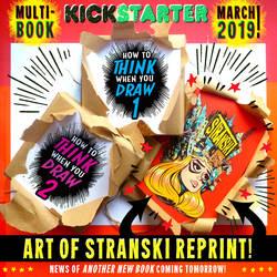 The ART of STRANSKI is in our 2019 KICKSTARTER! by STUDIOBLINKTWICE