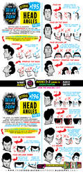 How to THINK when you draw HEAD ANGLES tutorial by STUDIOBLINKTWICE