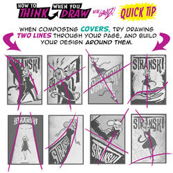How draw COVERS QUICK TIP by STUDIOBLINKTWICE