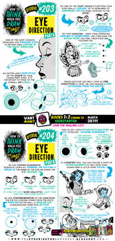 How to draw EYE DIRECTION tutorial for #LEARNUARY! by STUDIOBLINKTWICE