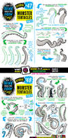 How to draw TENTACLES tutorial for #LEARNUARY! by STUDIOBLINKTWICE