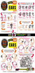 How to draw EARS tutorial for #LEARNUARY! by EtheringtonBrothers