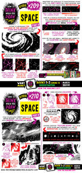 How to draw SPACE tutorial for #LEARNUARY! by EtheringtonBrothers