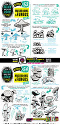 How to draw MUSHROOMS tutorial by EtheringtonBrothers