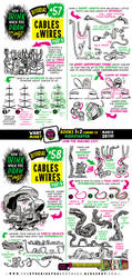 How to draw CABLES + DA NAME CHANGE! by EtheringtonBrothers