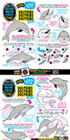 How to draw DOLPHINS tutorial! by EtheringtonBrothers