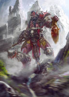 Blood Rager Orc by IvanSevic
