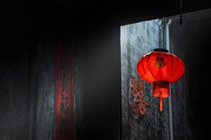 The Red Lantern by DawnRoseCreation