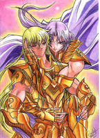 Mu and Shaka by MistressAinley