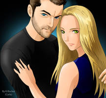 Peter and Olivia - Fringe by MistressAinley