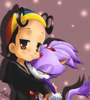 Blaze hate hugs by MistressAinley