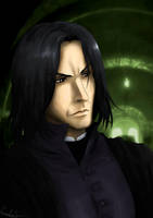Severus Snape by MistressAinley