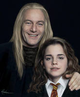 Lucius and Hermione by MistressAinley