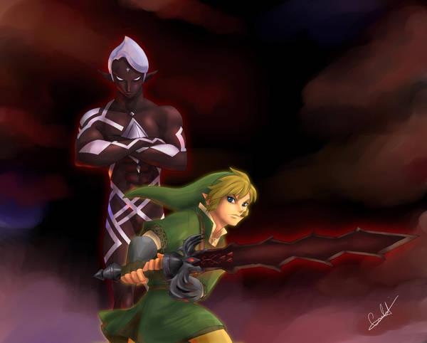 Legend of Zelda: Chocolate Sword xD by MistressAinley