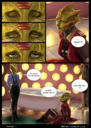 Lizard Love - page 1 by MistressAinley