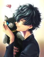 Morgana and Ren by MistressAinley