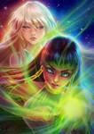 Ajna and Izui by MistressAinley
