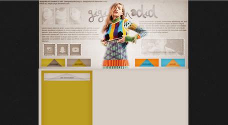 free design ft. gigi hadid by designsbyroth