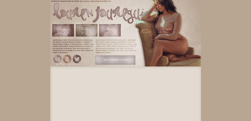 free design ft. Lauren Jauregui by designsbyroth