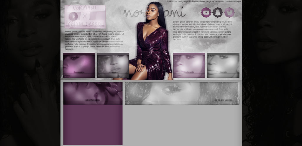 FREE DESIGN FT. NORMANI by designsbyroth