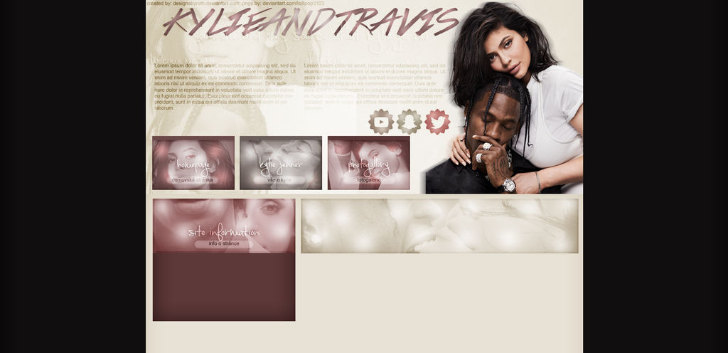 FREE DESIGN FT. KYLIE JENNER AND TRAVIS SCOTT by designsbyroth