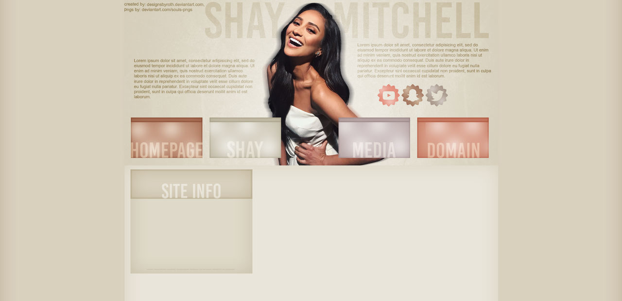 FREE DESIGN ft. Shay Mitchell by designsbyroth