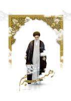 Imam Khamenei by hertkof