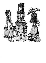 Gothic Lolitas by Naischa