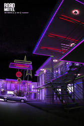 night motel by polperdelmar
