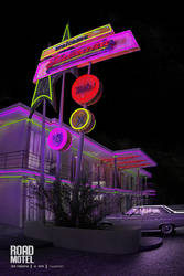 night motel parking by polperdelmar