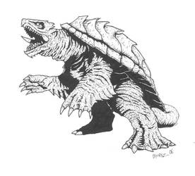 Gamera by Gaibhre