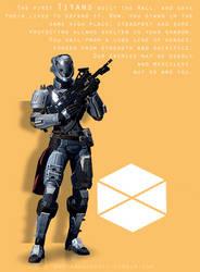 Destiny - The Titan by HannahRooth