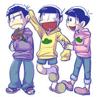 Osomatsu-san - younger brothers by cooga01