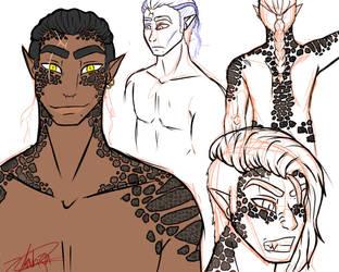 Half-assed Character sheet by ZankJra
