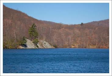 Bear Mountain Lake by SplitScreenShot
