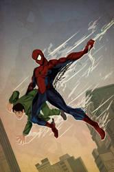 Spiderman Origin by ChasingArtwork