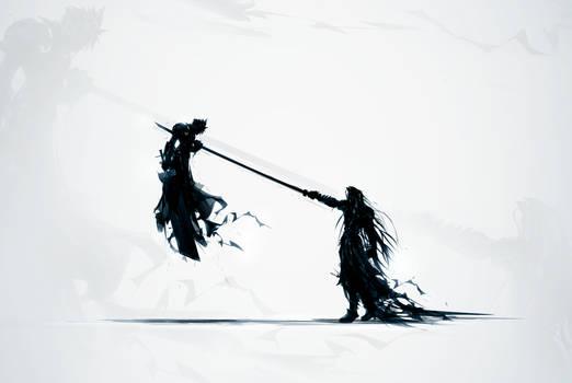 Final Fantasy Seven by ChasingArtwork