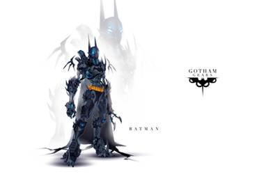 Gotham Gears: Batman by ChasingArtwork