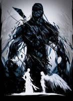 GhostBlade Volume 1 variant cover by ChasingArtwork