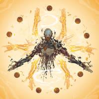 Zenyatta- 21 days of Overwatch! by ChasingArtwork