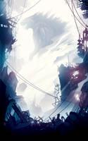 Godzilla. by ChasingArtwork