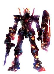 Gundam Constellation by ChasingArtwork