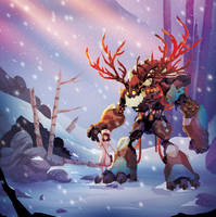 Snowy Stroll by ChasingArtwork