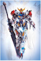 Busted up Barbatos by ChasingArtwork