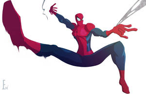 Another spider man by E-m2