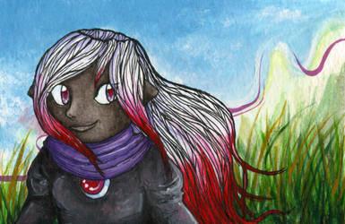 Drowtales - Ariel by lionbeforelamb