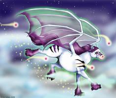 Ride of Whitefyre by blue-snowangel