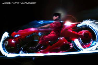 Kaneda's Bike by final-testament