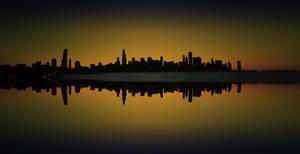 The Sky Line - Chicago by Rana-Rocks